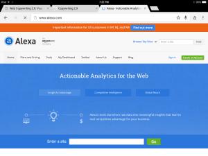 Alexa Tool: WriteMixforBusiness.com