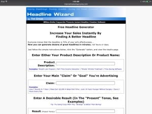 headline wizard image for Luky 7 Headlines by writemixforbusiness.com