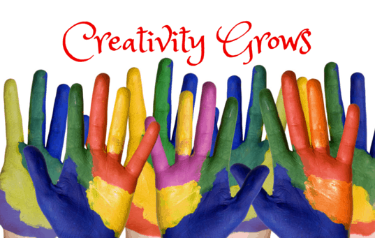 Creativity Grows bu Sue-Ann Bubacz at writemixforbusiness.com
