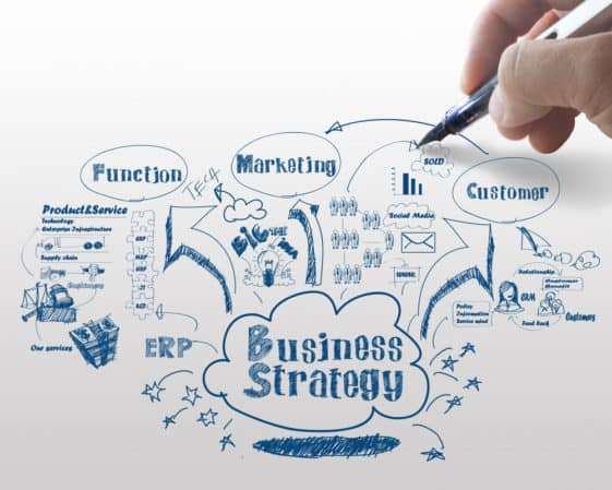 business strategy process for blueprint section of biz blog post by Sue-Ann Bubacz for writemixforbusinessdotcom