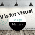 V is for Visual Design Elements
