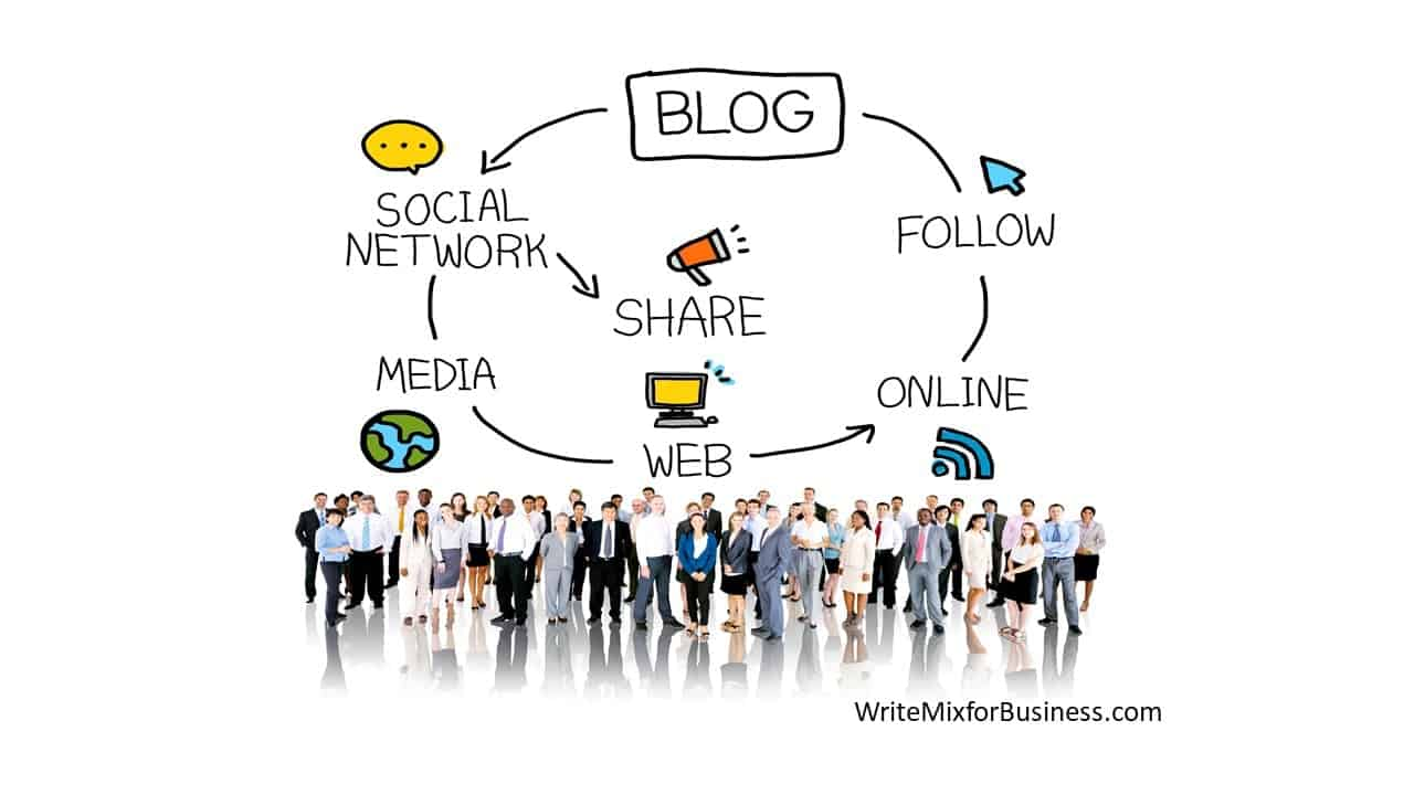 A business blog is your content hub filled with valuable resources and the center for interactivity for your business. #blogging #biztips