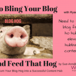 Learning to Bling Your Blog Yet?