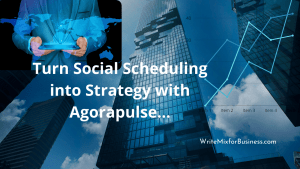 Agorapulse for Social Scheduling
